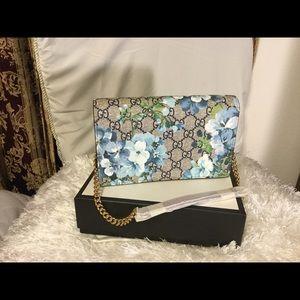 GG Supreme Blooms  wallet sling